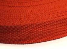 Ременная лента, 25 мм, оранжевая, 1432