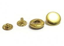 "Кнопка ""Альфа"" 12,5 мм, латунь, 3145"