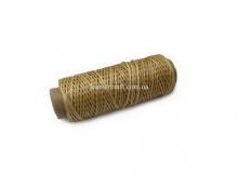 Нить вощеная, 1 мм, карамель, 50 м.п, 1585/2