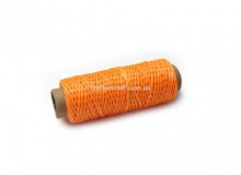 Нить вощеная, 1 мм, оранжевая, 50 м.п, 1572/2