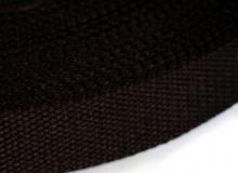Стропа, 25 мм, темно коричневая, 1449