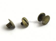 Винт ременной, антик, 10 мм, 3434
