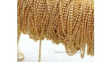 Шариковая цепочка, 2 мм, золото, 2615