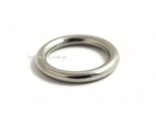 Кольцо 23 мм, литое, никель, 5202