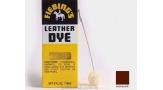 Fiebings leather dye, краска для кожи, шоколад, 4337