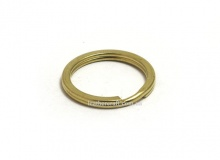 Кольцо ключное 20 мм, латунь, 2322