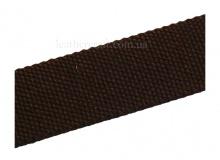 Ременная лента, 32 мм, коричневая, 1445