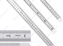 Линейка из нержавеющей стали, 15, 20 и 30 см, 1049