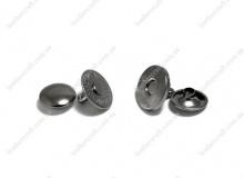 Кнопка магнитная установочная 14 мм, никель, 3147
