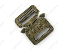 Фастекс, металл, антик, 27 мм, 3207