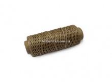 Нить вощеная, 1 мм, орех, 50 м.п, 1594/2