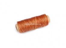 Нить вощеная, 1 мм, желто - коричневая, 50 м.п, 1557/2