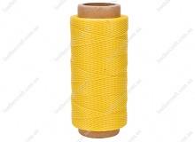Нить вощеная, 0,8 мм, желтая, 260 м.п, 1523/1