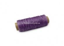 Нить вощеная, 1 мм, фиолетовая, 50 м.п, 1591/2