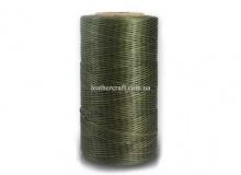 Нить вощеная, 1 мм, т. оливковый, 260 м.п, 1587/1