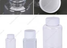 ПЭТ-бутылка с герметичным уплотнителем, 15, 30, 60, 80, 150, 200 мл, 1048