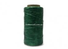 Нить вощеная, 1 мм, зеленая, 260 м.п, 1586/1