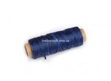 Нить вощеная, 0,8 мм, синяя, 50 м.п, 1588/2