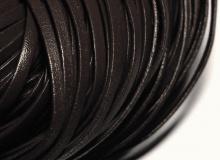 Тесьма 3 мм, кожа, коричневая, 1569