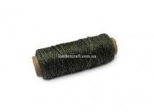 Нить вощеная, 1 мм, т. зеленая, 50 м.п, 1564/2
