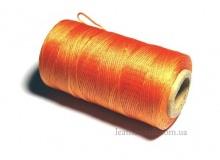 Нить вощеная, 1 мм, оранжевая, 260 м.п, 1572/1