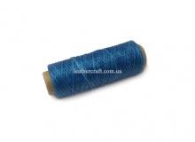 Нить вощеная, 1 мм, голубая, 50 м.п, 1575/2